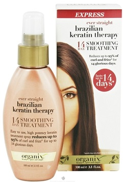 Organix Brazilian Keratin Therapy 14 day smoothing treatment