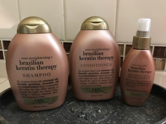 Organix shampoo and conditioner